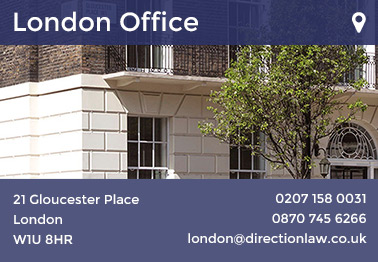 Direction Law in London